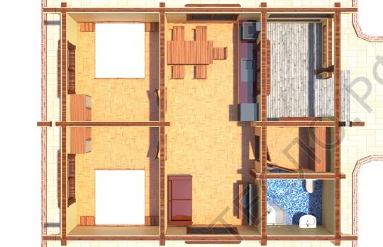 Дачный дом - 03