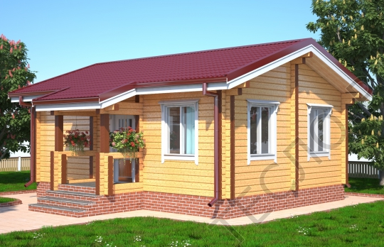 Дачный дом - 04